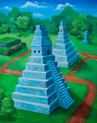 Game illustration: Mayan Conquest Temple